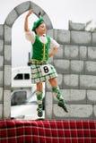 Highland dancer. Royalty Free Stock Photos