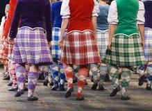 Highland Dancers. The Edinburgh Military Tattoo Highland Dancers at the 2006 Edinburgh Military Tattoo Stock Photo