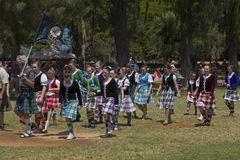 Highland dancers Royalty Free Stock Photos