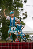 Highland dancers. Royalty Free Stock Image