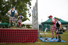 Highland dancers. Stock Photography