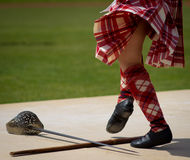 Highland Dancing Royalty Free Stock Photo