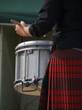 Highland Drummer Royalty Free Stock Image