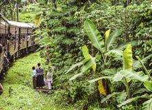 Highland Express in Sri Lanka Royalty Free Stock Image