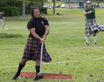 Highland Games 1 Stock Photography