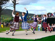 Highland Games Royalty Free Stock Photo