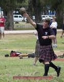 Highland Games 6. Event:  Highland Games, 27th Annual Hawaiian Scottish Festival 05.IV.08 Royalty Free Stock Image
