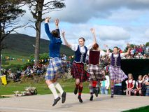 Highland Games: Dancers Royalty Free Stock Image