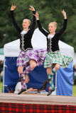 Highland Games Highland Dancer in Scotland Royalty Free Stock Photography