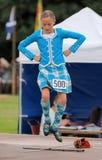 Highland Games Highland Dancer in Scotland Stock Photo