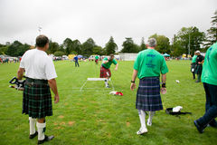 Highland games. Royalty Free Stock Image