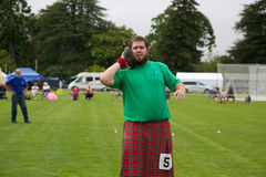 Highland games. Stock Images