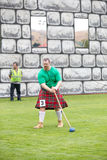Highland games. Stock Photo