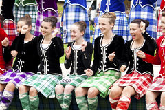 Highland games scotland Stock Images