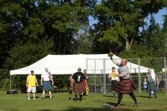 Highland Games Stock Photo