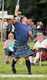 Highland Games Shot put in Scotland Stock Photos
