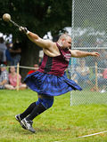 Highland Games Weight Spin Man Stock Photos