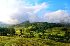 Highland, Grassland, Nature, Sky Royalty Free Stock Images