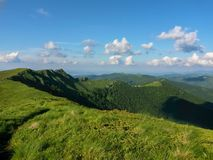 Highland, Grassland, Ridge, Mountainous Landforms royalty free stock photography