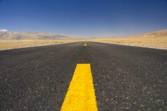 Highland Highway Royalty Free Stock Photo