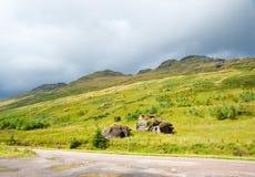Highland hill Stock Photo