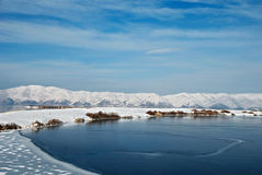 Highland Lake Sevan Stock Photography