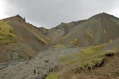 Highland landscape in Iceland Royalty Free Stock Image