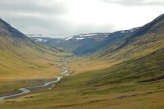 Highland landscape in Iceland. Stock Photo