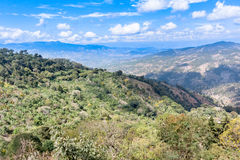 Highland landscape near San Pedro Pinula in Guatemala Stock Photo
