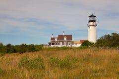 The Highland Light on the Cape Cod, Massachsetts, USA Stock Photos