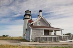 The Highland Light on the Cape Cod, Massachsetts, USA Stock Photo