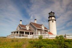 The Highland Light on the Cape Cod, Massachsetts, USA Royalty Free Stock Photos
