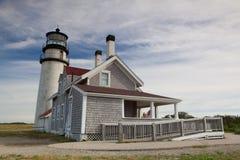 The Highland Light on the Cape Cod, Massachsetts, USA Stock Photography