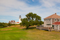 The Highland Light on the Cape Cod, Massachsetts, USA Royalty Free Stock Photography