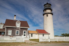 The Highland Light on the Cape Cod, Massachsetts, USA Royalty Free Stock Images