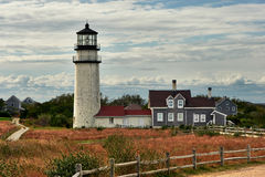 Highland Lighthouse at Cape Cod, built in 1797 Royalty Free Stock Image
