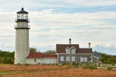 Highland Lighthouse at Cape Cod Stock Photos