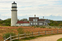 Highland Lighthouse at Cape Cod Stock Photography
