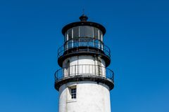Highland Lights Top. Top of the Highland Lights Lighthouse Stock Photography