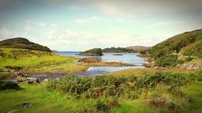 Highland Loch royalty free stock photography