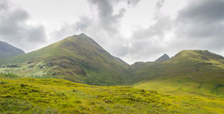 Highland Mountain In Scotland Royalty Free Stock Photo