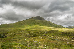 Highland mountain in Scotland Stock Photos