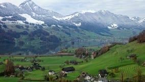 Highland, Mountain Village, Mountain Range, Mountainous Landforms stock images