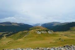 Highland, Mountainous Landforms, Grassland, Sky