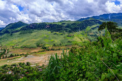 Highland at north Vietnam stock photos