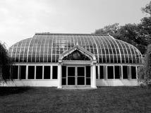 Rochester Highland Park Lamberton Conservatory. Highland Park Lilac Festival showing Lamberton Conservatory greenhouse architecture. Rochester NY stock image