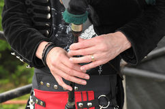 Highland piper Stock Photography