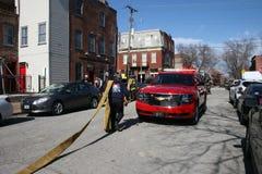 Fire at Soulard-St. Louis Mardi Gras 2020 IX