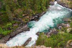 Highland rapid river Rauma Royalty Free Stock Photos