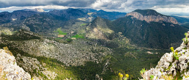 Highland regions near Alaro, Majorca Royalty Free Stock Image